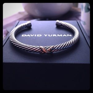 David Yurman X Station 5mm Two Tone Bracelet